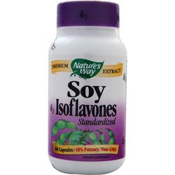 NATURE'S WAY Soy Isoflavones - Standardized Extract 60 caps