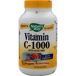 NATURE'S WAY Vitamin C-1000 with Rose Hips 250 caps
