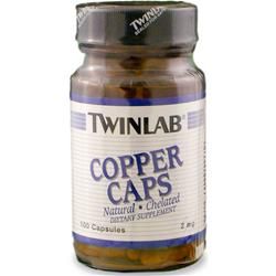 TWINLAB Copper (2mg) 100 caps