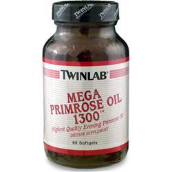 TWINLAB Mega Primrose Oil (1300mg) 60 sgels