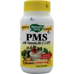 NATURE'S WAY PMS with 5-HTP & Vitamin B-6 100 caps
