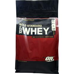 OPTIMUM NUTRITION 100% Whey Protein - Gold Standard Double Rich Chocolate 10 lbs
