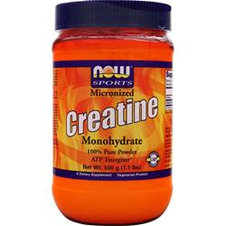 NOW Micronized Creatine Monohydrate 500 grams