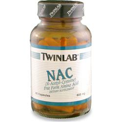 TWINLAB NAC - N-Acetyl-Cysteine (600mg) 60 caps