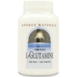 SOURCE NATURALS L-Glutamine (500mg) 100 tabs