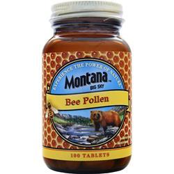 Montana Big Sky Bee Pollen 100 tabs