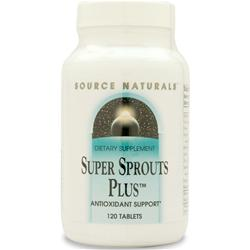 Source Naturals Super Sprouts Plus 120 tabs