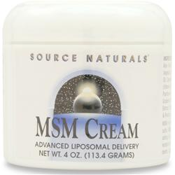 SOURCE NATURALS MSM Cream 4 oz