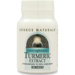 SOURCE NATURALS Turmeric Extract 100 tabs