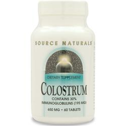 SOURCE NATURALS Colostrum 60 tabs