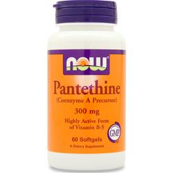NOW Pantethine (300mg) 60 sgels