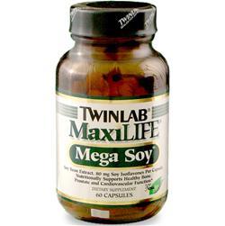 TWINLAB MaxiLIFE- Mega Soy 60 caps