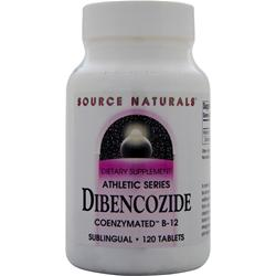 SOURCE NATURALS Dibencozide Coenzymated B-12 120 tabs