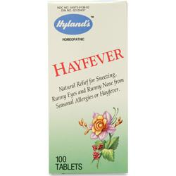 HYLANDS HOMEOPATHIC Hayfever 100 tabs