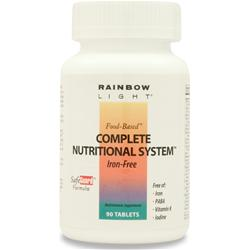 RAINBOW LIGHT Complete Nutritional System (Iron-Free) 90 tabs