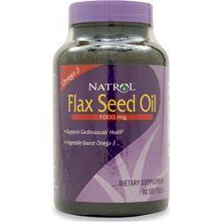 NATROL Flax Seed Oil 90 sgels
