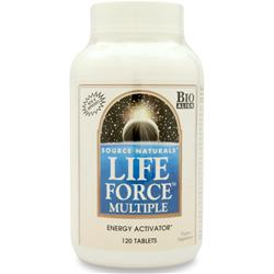 SOURCE NATURALS Life Force Multiple with Iron 120 tabs