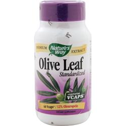 NATURE'S WAY Olive Leaf - Standardized Extract 60 vcaps