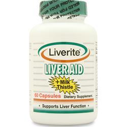 Liverite Liver Aid plus Milk Thistle 60 caps