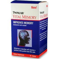 TwinLab Vital Memory 45 tabs