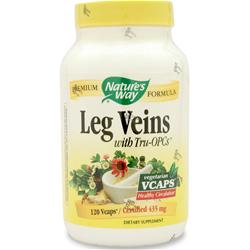 NATURE'S WAY Leg Veins Formula 120 vcaps