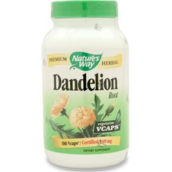 NATURE'S WAY Dandelion Root 180 vcaps