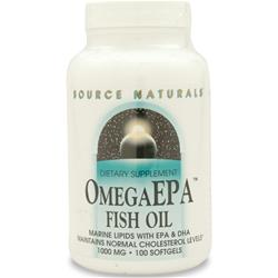 Source Naturals Omega EPA Fish Oil 100 sgels