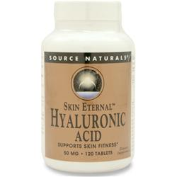 SOURCE NATURALS Skin Eternal - Hyaluronic Acid 120 tabs