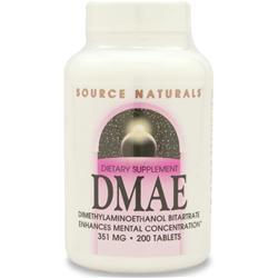 SOURCE NATURALS DMAE (130mg) 200 tabs