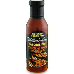 WALDEN FARMS Barbeque Sauce Thick & Spicy 12 oz