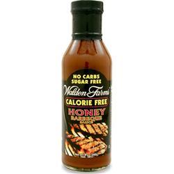 WALDEN FARMS Barbeque Sauce Honey 12 oz