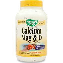 Nature's Way Calcium Magnesium & D Complex 250 caps