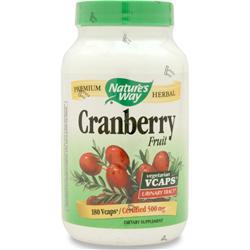 Nature's Way Cranberry Fruit 180 vcaps