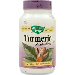 Nature's Way Turmeric  - Standardized Extract 120 tabs