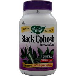 NATURE'S WAY Black Cohosh - Standardized Extract 120 vcaps