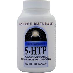 SOURCE NATURALS 5-HTP (100mg) 120 caps