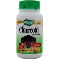Nature's Way Charcoal - Activated 100 caps