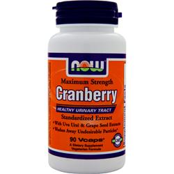 NOW Cranberry - Standardized 90 vcaps