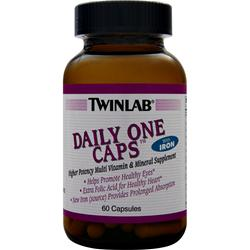 TwinLab Daily One with Iron Multivitamin 60 caps