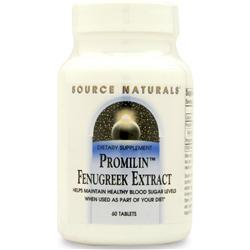 SOURCE NATURALS Promilin Fenugreek Extract 60 tabs