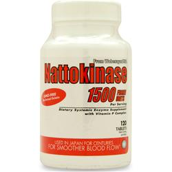 NATURALLY VITAMINS Nattokinase 120 tabs