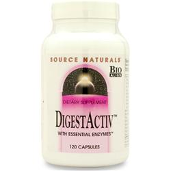 Source Naturals DigestActiv with Essential Enzymes 120 caps