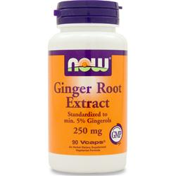 NOW Ginger Root Extract 90 vcaps