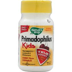 NATURE'S WAY Primadophilus for Kids (chewable) Cherry 30 tabs