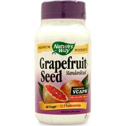NATURE'S WAY Grapefruit Seed - Standardized Extract 60 vcaps