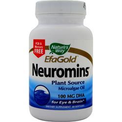 NATURE'S WAY Neuromins DHA 60 sgels