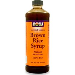 NOW Brown Rice Syrup Best by 2/15 16 fl.oz