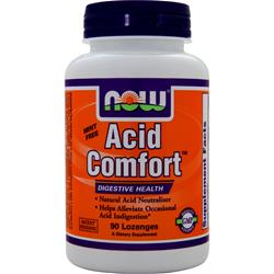 NOW Acid Comfort Cinnamon 90 lzngs