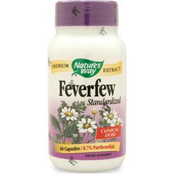 Nature's Way Feverfew - Standardized Extract 60 caps