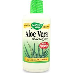 Nature's Way Aloe Vera Liquid Whole Leaf Juice 33.8 fl.oz